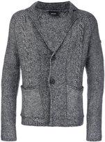 Armani Jeans V neck cardigan