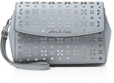 MICHAEL Michael Kors Medium Ava Perforated Wristlet