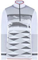 adidas by Stella McCartney Stella McCartney white wintersports seamless long sleeved top
