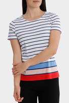 Regatta Multi Colour Stripe Short Sleeve Tee