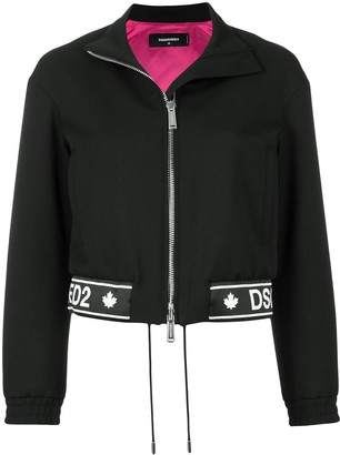 DSQUARED2 Logo Printed Jacket