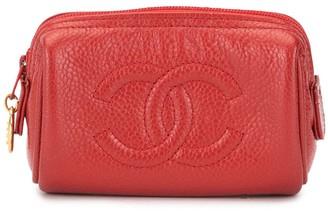 Chanel Pre Owned CC Logos Mini Multi Pouch