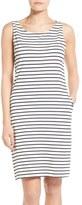 Barbour Women's Dalmore Stripe Jersey Sleeveless Shift Dress