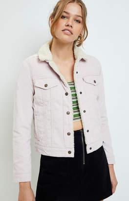 Levi's Hush Violet Trucker Jacket