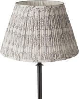 OKA 35cm Pleated Daun Cotton Lampshade