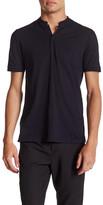 The Kooples Short Sleeve Henley Shirt