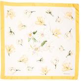 Tiffany & Co. Silk Floral Printed Scarf