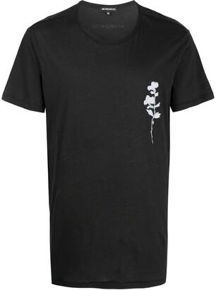 Ann Demeulemeester flower print T-shirt