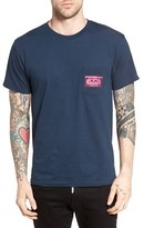 Obey Men's Video Club Graphic Pocket T-Shirt
