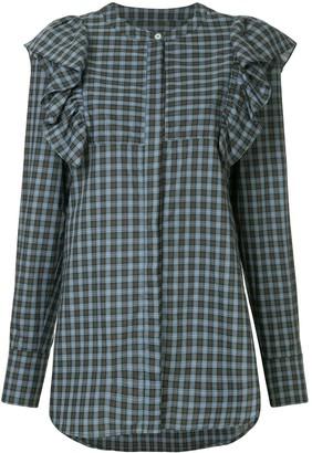 macgraw Signal checked shirt