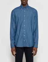 Gitman Brothers Japanese Denim Button Down