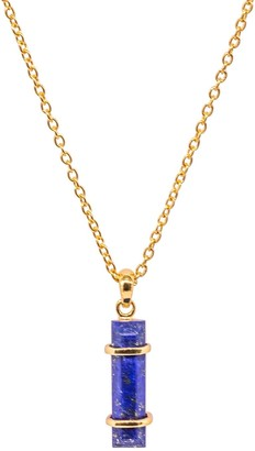 Jewel Tree London Urban Pendant Lapis Lazuli
