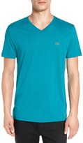 Lacoste Men's Pima Cotton Jersey V-Neck T-Shirt