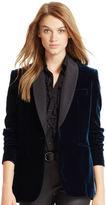 Polo Ralph Lauren Velvet Shawl-Collar Jacket