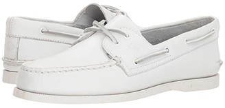 Sperry A/O 2-Eye (White) Men's Lace up casual Shoes