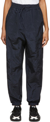 Y-3 Navy Classic Shell Lounge Pants