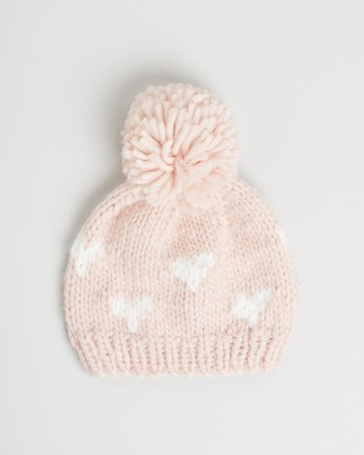 Morgan & Taylor Girl's Pink Beanies - Gabrielle Mini Beanie - Kids - Size One Size at The Iconic