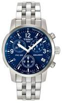 Tissot Mens PRC 200 Blue Quartz Chronograph Classic Watch