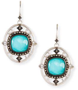 Armenta New World Doublet Drop Earrings w/ Crivelli