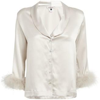 Gilda and Pearl Silk Pyjama Shirt