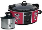 Crock Pot Crock-Pot Cook & Carry Wisconsin Badgers 6-Quart Slow Cooker Set