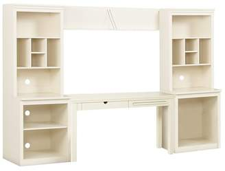 Pottery Barn Teen Stuff-Your-Stuff Desk &amp System, Simply White