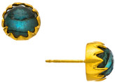 Heather Hawkins Maleficent Dome Gemstone Stud Earrings - Multiple Colors