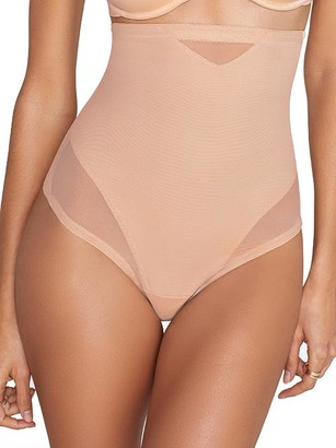 Miraclesuit Sexy Sheer Extra Firm Control High-Waist Thong