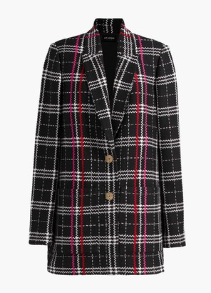 St. John Bold Plaid Jacket