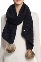 UGG Scarf with Pom-Poms - 100% Exclusive