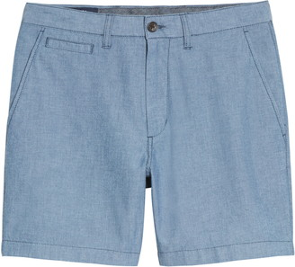 1901 Ballard Slim Fit Chambray Shorts