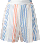 Stella McCartney stretch waistband shorts - women - Cotton/Cupro - 38