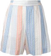 Stella McCartney stretch waistband shorts - women - Cotton/Cupro - 42