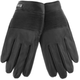 HUGO BOSS Black Kilox 3 Leather Gloves Black