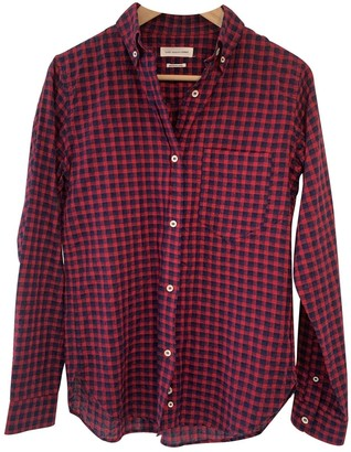 Etoile Isabel Marant Red Cotton Top for Women