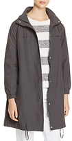 Eileen Fisher Hooded Stand Collar Jacket