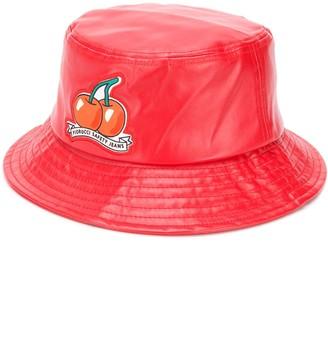 Fiorucci Cherry vinyl bucket hat