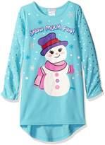 Komar Kids Girls' Big Girls' Snow Much Fun Gown