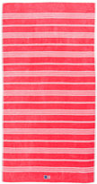 Lexington Striped Velour Beach Towel