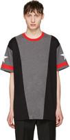 Givenchy Grey Star T-Shirt