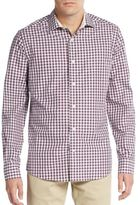 Saks Fifth Avenue Regular-Fit Gingham Check Sportshirt