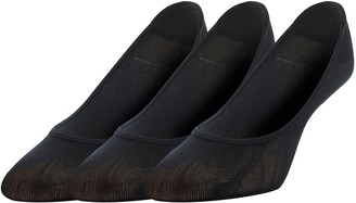 Gold Toe Women's Little Black Padded Invisible Socks 3 Pairs Shoe Size: 6-9