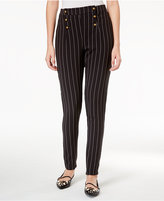 Disney Beauty and the Beast Juniors' Striped Military Pants