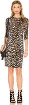 Equipment Marla Cheetah Print Sweater Dress