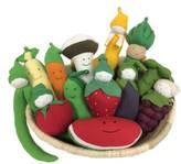 Under the Nile Infant 14-Piece Stuffed Fruit & Vegetable Basket