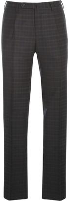 Incotex Scottish Tartan Pants W/ Pinces