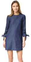Tibi Tie Sleeve Dress