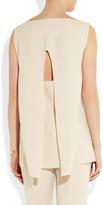 Calvin Klein Collection Pippo cutout stretch-cady top