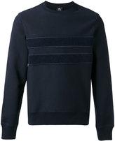 Paul Smith textured stripe sweatshirt - men - Cotton - M