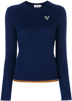 Coach Dino Patch sweater - women - Cashmere - XS